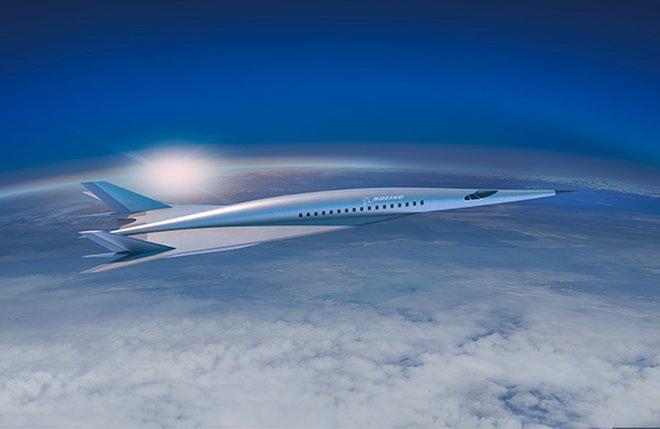 Boeing Mach 5 Concept