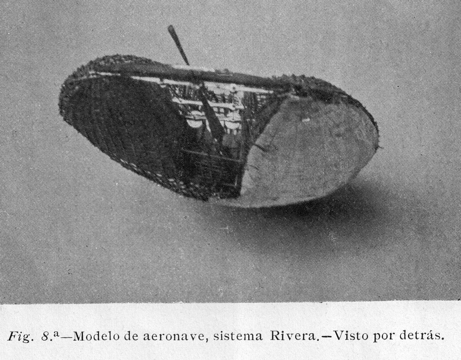 M Rivera Airship rear view