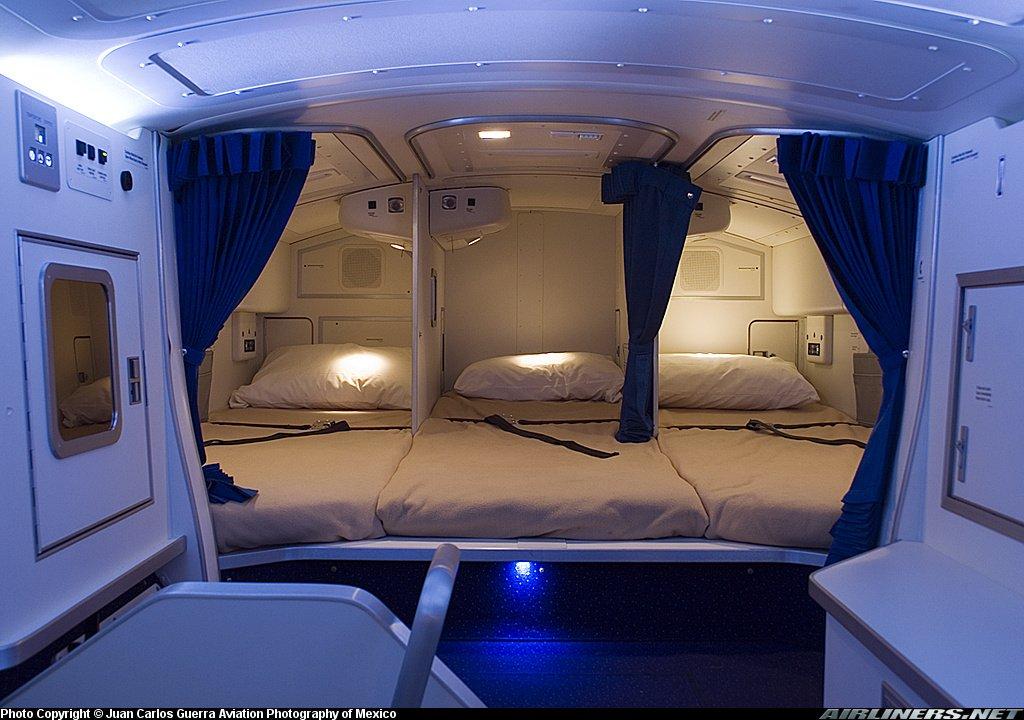 crew rest area